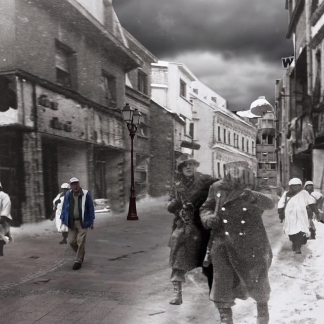 Frank revisits Normandy #mtlsav